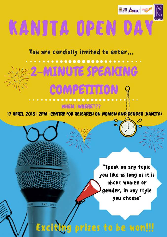 2 minute speaking competition